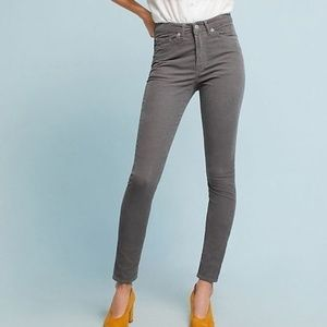 HEY ASH GREY SKINNY CORDUROY PANTS by THE CORDS &
